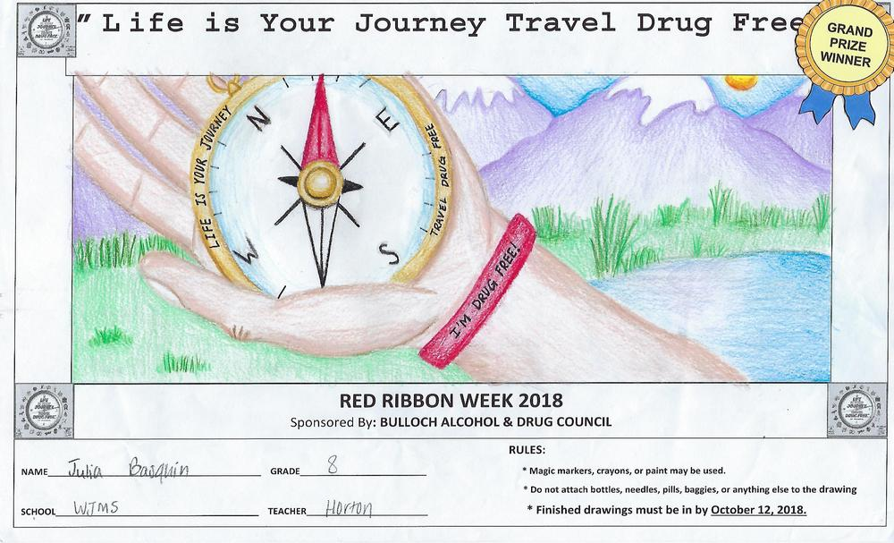 Red Ribbon Week Poster Winner