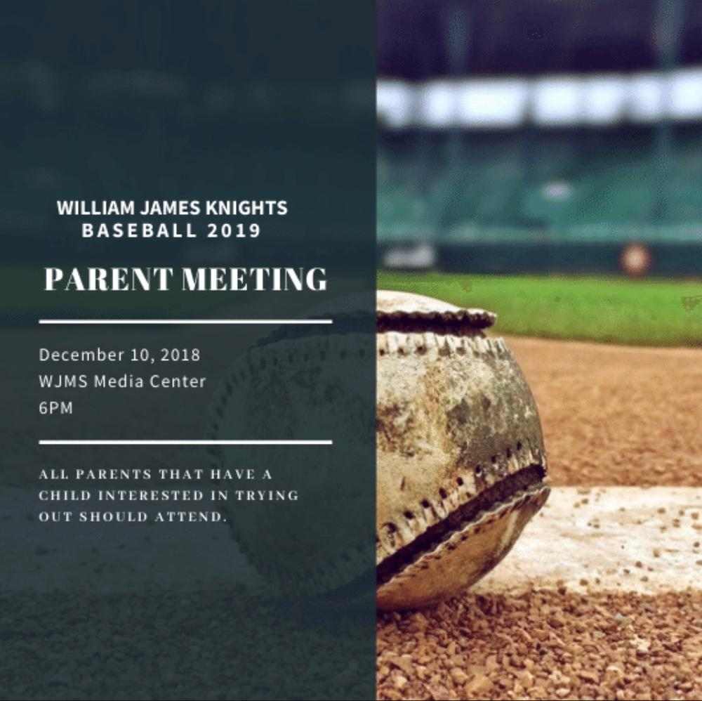 Baseball meeting